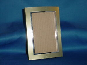"""PICTURE FRAME Arched Metallic Olive Green Frame fits 5.5"""" x 3.5"""" photo"""