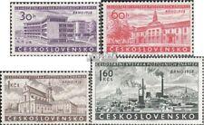 Tchécoslovaquie 1097-1100 (complète.Edition.) neuf avec gomme originale 1958 Exp