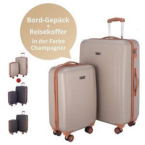 Hauptstadtkoffer 2er Koffer Set Hartschalenkoffer Trolley-Set 4 Rollen TSA S+XL