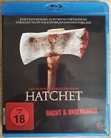 Hatchet Bluray Uncut Uncensored Neuwertig Like New Blu-ray FSK18 Tamara Feldman