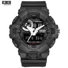 Watch Wrist SMAEL Chrono Digital Sport Men's LED Sport Analog Anti-Shock Quartz