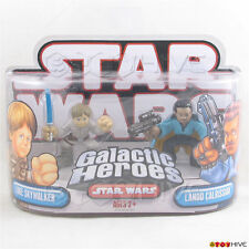 Star Wars Galactic Heroes Lando and Luke Bespin outfit 2 figure pack