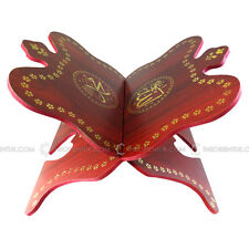 Wooden Quran Stand Rehal Mahogany Hand Crafted Design Quality Large Book Holder