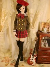 """Mixed Olive Uniform Skirt Outfits For BJD 1/4 17"""" MSD AOD AS Luts dollfie GW"""