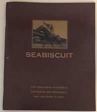 SEABISCUIT For Your Consideration FYC Booklet Academy Award Oscars 2003