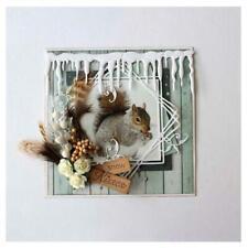Metal Cutting Dies Icicle Craft Scrapbooking Winter Die Album Card Stencil DIY