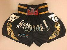 I-fit Muay Thai Fight Shorts MMA Grappling Kick Boxing Trunks Martial Arts UFC