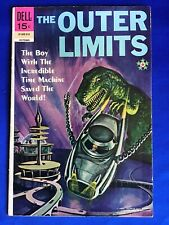 The Outer Limits #18 (1969) Dell #01-605-910; Dinosaur Cover; Last Issue;