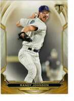 Randy Johnson 2019 Topps Triple Threads 5x7 Gold #5 /10 Diamondbacks