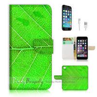 ( For iPhone 6 Plus / iPhone 6S Plus ) Case Cover PB10471 Leaf