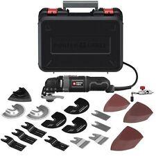 Oscillating Multi Tool 52 Accessory Kit Blade Scraper Grind Sand Paper Cord 10ft