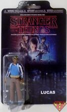 "LUCAS with SLINGSHOT NETFLIX Stranger Things 3.75"" Reaction Action Figure 2017"