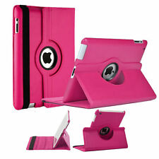 Leather 360° Degree Rotating Smart Stand Case Cover For iPad Mini 1/2/3