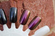 MULTICHROME Color Shift Nail Top Coat - 15 ml.   (Pink/Violet/Wine/Copper)