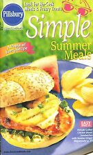 SIMPLE SUMMER MEALS PILLSBURY COOKBOOK JULY 2001 #245 SANDWICHES, SALADS, TREATS