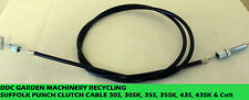 Qualcast Suffolk Punch 30 35S roller drive cable c/w adjusters replacement parts