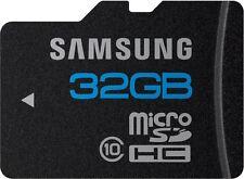 New Samsung 32GB micro SD Memory Card SDHC Class 10 Galaxy S2 S8 Galaxy Tab HTC