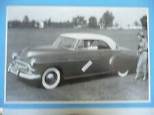 "12 By 18"" Black & White Picture 1950 Chevrolet 2 Door Hardtop"