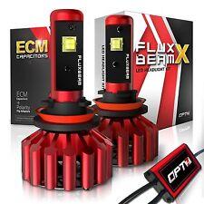 OPT7 H11 H8 H9 LED Headlight Bulbs 60w Pair 6000K White Light Conversion Kit