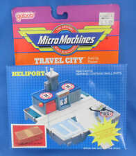 Micro Machines Travel City Heliport Fold-Up Playset Galoob
