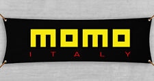 Momo Flag Banner 1.5x5 ft Performance Racing Road Wheels Accessories