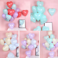 "10/50x Heart Latex Balloon 12"" Wedding Birthday Baby Shower Party Decor Balloons"