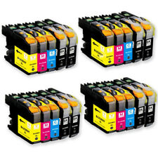 4 Set 20 INK CARTRIDGE NON-OEM BROTHER LC-203 XL MFC-J4320 J4420DW J4620 J5520DW