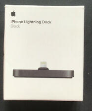Genuine Apple iPhone Lightning Dock BLACK iPhone 11 XR XS X Max 8 7 6s 6 5 SE