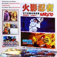 COLLECTION ARTBOOK NARUTO ART BOOK ANIME MANGA KAKASHI SASUKE ITACHI DVD KUNAI 1
