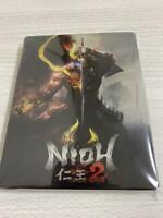 NIOH 2 STEELBOOK GEO Japan Limited PS4 Play Station 4 Case Only