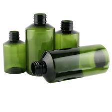 50ml100ml150ml200ml dark green oblique sulder plastic bottle clamshell bott_TI