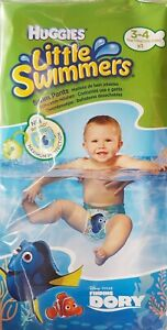 Schwimmwindel Babywindel Badehose Swim Pants Huggies 7-15 kg Größe 3-4 NEU OVP