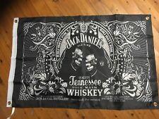 Man cave bar flag banner  mancave bundy rum JD wild turkey USA bourbon whiskey