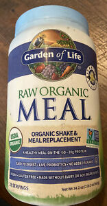 Garden of Life - Raw Organic Meal Shake & Meal Replacement - Vanilla 34.2oz