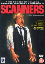 Scanners Trilogy Dvd Boxset Brand New & Factory Sealed