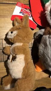 KONG Shakers Passports Kangaroo Squeaks Medium / Large Dog Toy