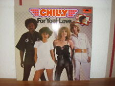 "CHILLY  "" FOR YOUR LOVE  ""  LP  MINT"