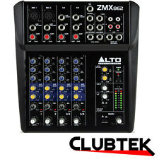 Alto Zephyr ZMX862 6 Channel Compact Live Performance Band Mixer / Effects UK