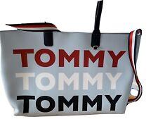 BNWT Tommy Hilfiger Name Tote Bag Pale Blue