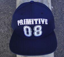 Primitive Apparel Skateboard Blue Navy 08 Snapback Mens Hat CapHTPRM-227