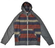 Quiksilver Big Boys Stripe Hoodie Size 12 (Medium) $40