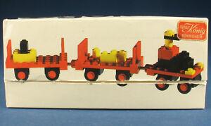 LEGO 622 - Gepäckkarren + Anhänger - Baggage Carts - in OVP / Legoland Box -1970