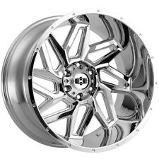 4 Vision 361 Spyder 20x10 6x55 25mm Chrome Wheels Rims 20 Inch Fits More Than One Vehicle