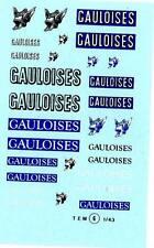 Decalbogen Gauloises 1:43 (006)