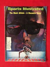VINTAGE SPORTS ILLUSTRATED JULY 1ST 1968 THE BLACK ATHLETE A SHAMEFUL STORY