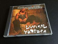 Lyrical Warfare Chocolate Bandit EX DEATH ROW RECORDS (CD 2001 Warlock Records)