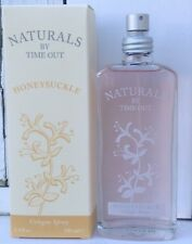 Naturals by Time Out Honeysuckle Perfume Cologne Spray 3.4 fl oz Bottle NEW Rare