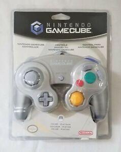Nintendo Gamecube OEM Controller Platinum sealed new in box