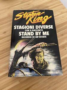 STAGIONI DIVERSE E STAND BY ME Stephen King CDE Prima edizione 1987