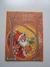 LE PETIT PERE NOEL ILLUSTRE / ENCART SPIROU  NUM 2541  DU 23 DECEMBRE 1986